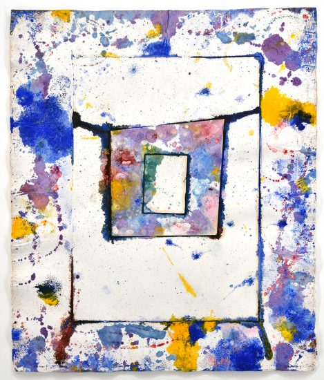 Sam Francis Lithograph, Untitled, 1977