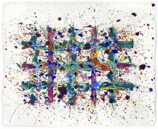 Sam Francis Monotype, Untitled, 1978