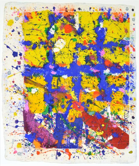 Sam Francis Monotype, Untitled, 1980