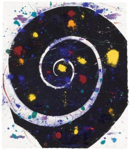 Sam Francis Monotype, Untitled, 1982