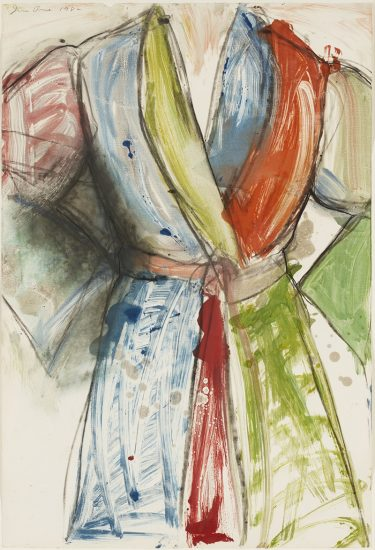 Jim Dine Lithograph, Untitled, 1982