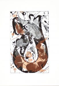 Sam Francis Aquatint, Untitled, 1985