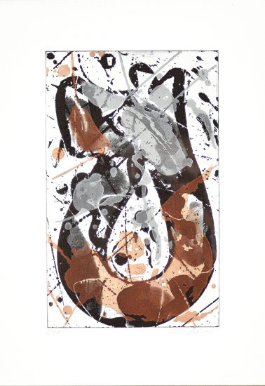 Sam Francis Lithograph, Untitled, 1985