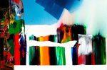 Paul Jenkins Acrylic, Untitled, 1985-87