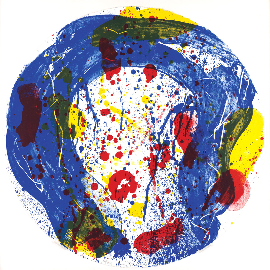 Sam Francis Lithograph Untitled, 1993 (image 1)