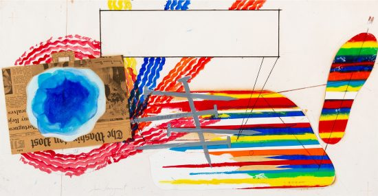 James Rosenquist Mixed, Study, 1975