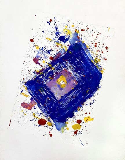 Sam Francis Monotype, Untitled, 2001