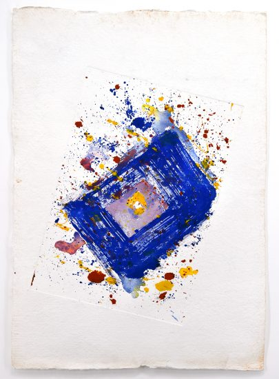 Sam Francis Lithograph, Untitled, 1991