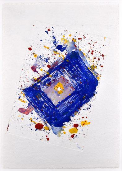 Sam Francis Monotype, Untitled, 1991