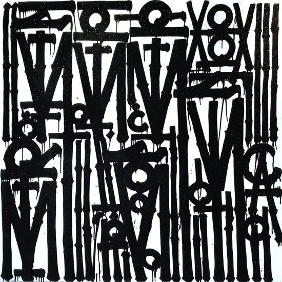 Retna Painting, Untitled, 2019