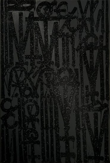 Retna Oil, Untitled, 2019