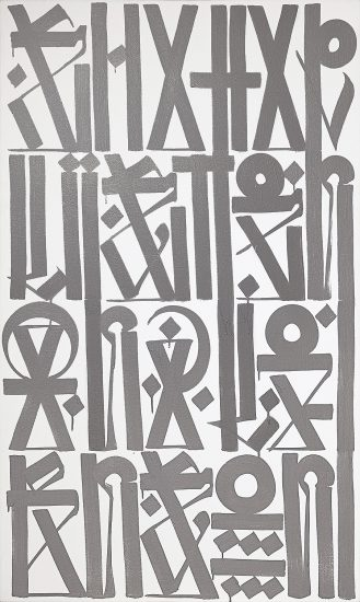 Retna Oil, Untitled, c. 2013