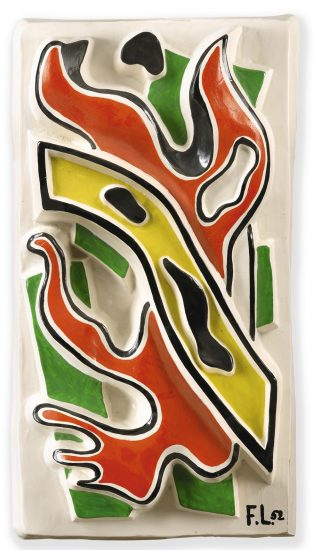 Fernand Léger Ceramic, Untitled, conceived 1952