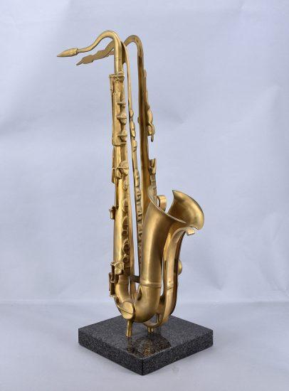 Arman Sculpture, Untitled (Saxophone), 1984