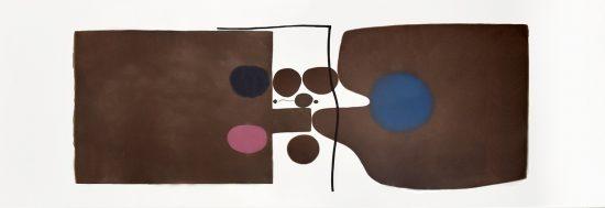 Victor Pasmore Etching, Via dei Misteri, 1980