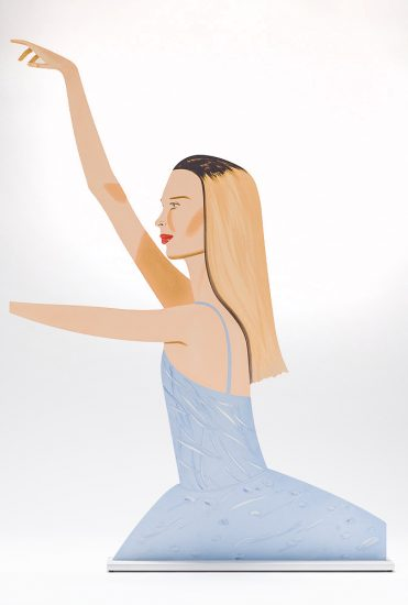 Alex Katz Mixed, Woman 2 (Cutout), 2020