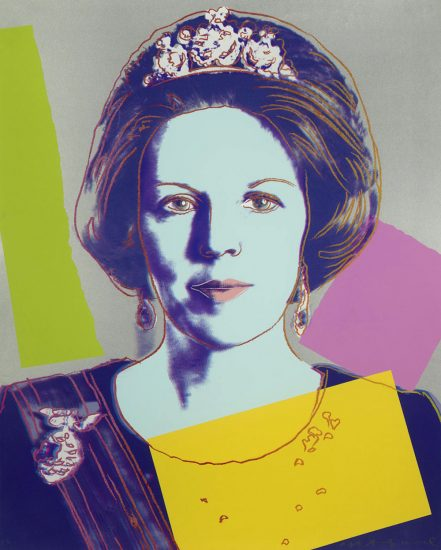 Queen Beatrix of The Netherlands 1985