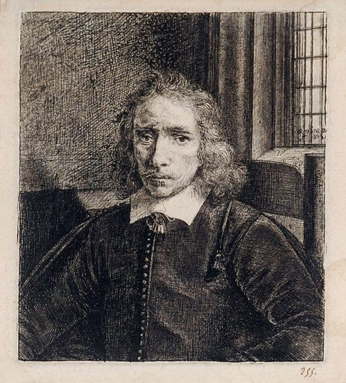 Rembrandt Etching, Jakob Thomasz Haringh (The Young Haring), 1655