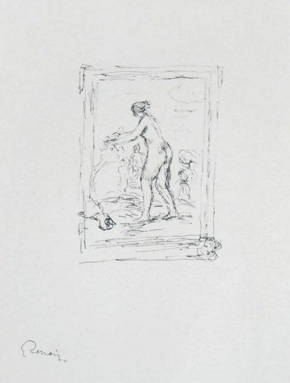 Pierre-Auguste Renoir Lithograph, Femme au cep de vigne, II Variante (Woman by the Grapevine, Second Variant),  c. 1904