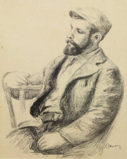 Pierre-Auguste Renoir Lithograph, Louis Valtat, c. 1904