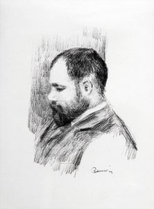Renoir Lithograph, Ambroise Vollard, c. 1904