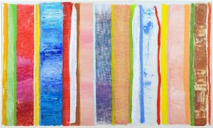 Robert Natkin Acrylic, Composition, 1975