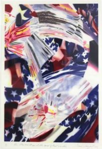 James Rosenquist Lithograph, The Stars and Stripes at the Speed of Light, 2nd State
