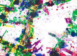 Sam Francis Lithograph, East Mother, 1971