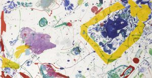 Sam Francis Monotype, Untitled c. 1982-1986