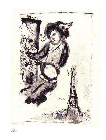 Painter over Paris