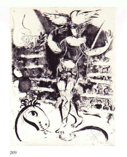 Woman circus-rider with bird