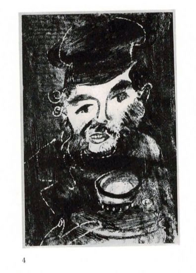 Man with samovar