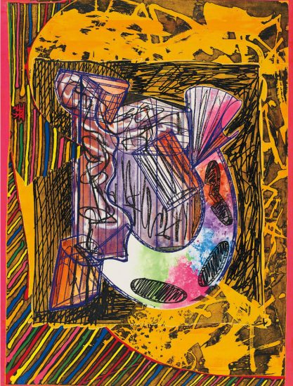 Frank Stella Etching, Bene come il sale (As Good as the Salt), 1989