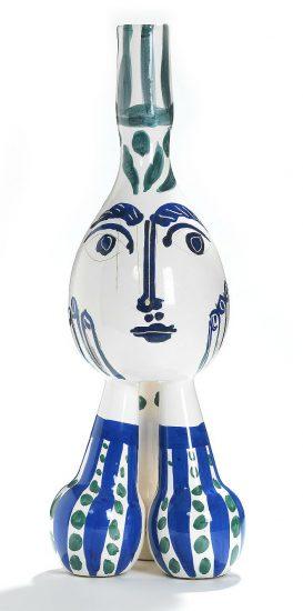 Pablo Picasso Ceramic, Tripode (Tripod), 1951 A.R. 125