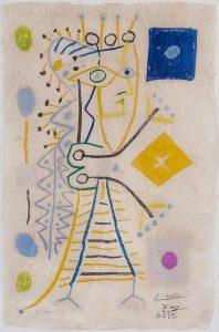 Pablo Picasso Lithograph, Jacqueline c. 1958
