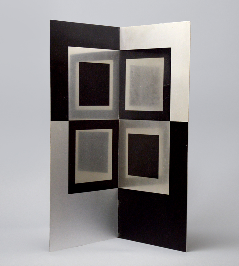 Victor vasarely image miroir mirror image 1965 sculpture for Miroir collable