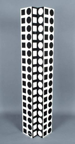 Victor Vasarely Sculpture, NBC 21