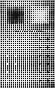 Victor Vasarely Gouache, Supernovae, c. 1960