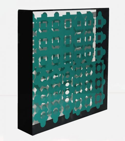 Victor Vasarely Sculpture, Helios, 1967