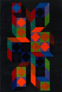Victor Vasarely Tapestry, Ter-A