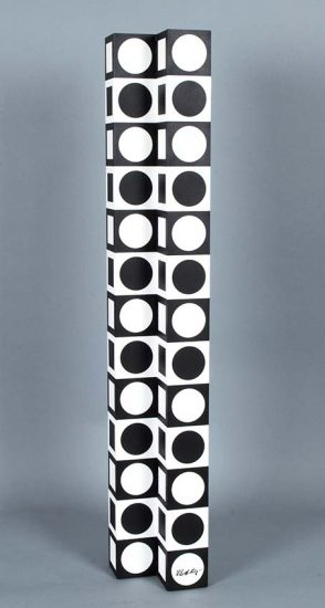 Victor Vasarely Sculpture, NB 41 from the IBOYA Series, 1974