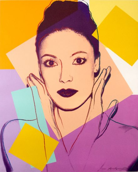 Andy Warhol Screen Print, Karen Kain, 1980