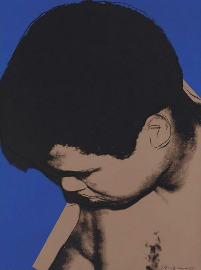 Andy Warhol Screen Print, Muhammad Ali, 1978
