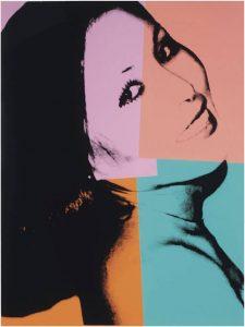Andy Warhol Screen Print, Sachiko, 1977