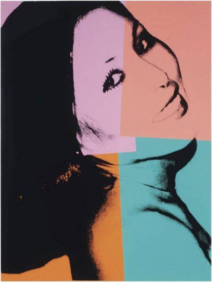 Andy Warhol Screen Print, Sachiko, 1977