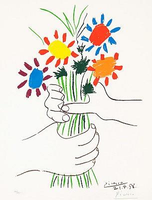 Pablo Picasso, Bouquet of Peace