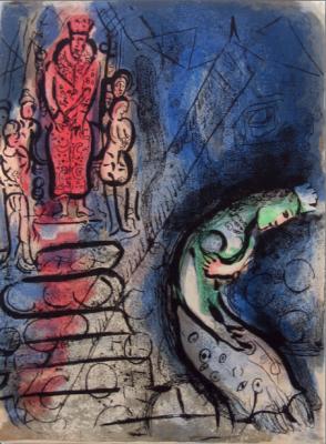 Marc_Chagall_Assurus_chasse_Vasthi_Ahasuerus_banishes_Vashti_244