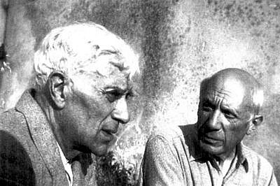 Georges Braque and Pablo Picasso
