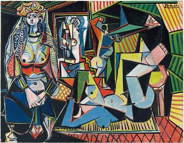 """Les Femmes d'Alger (Version """"O""""), 1955"""