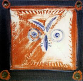 Pablo Picasso Ceramic Plaque